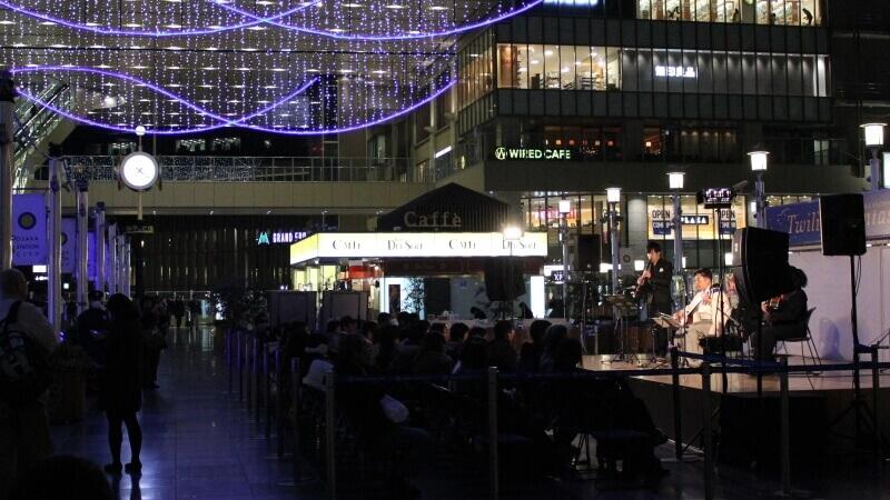 JR大阪ステーションシティー時空の広場イベント3