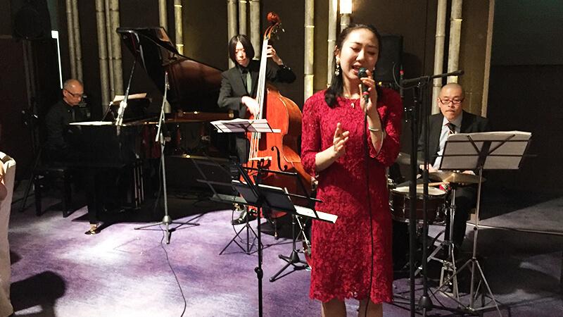 新春フォーシーズンズホテル京都にて披露宴のBGM生演奏2