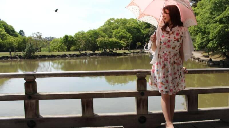 今日は天気がとても良いので奈良でアーティスト写真撮影5