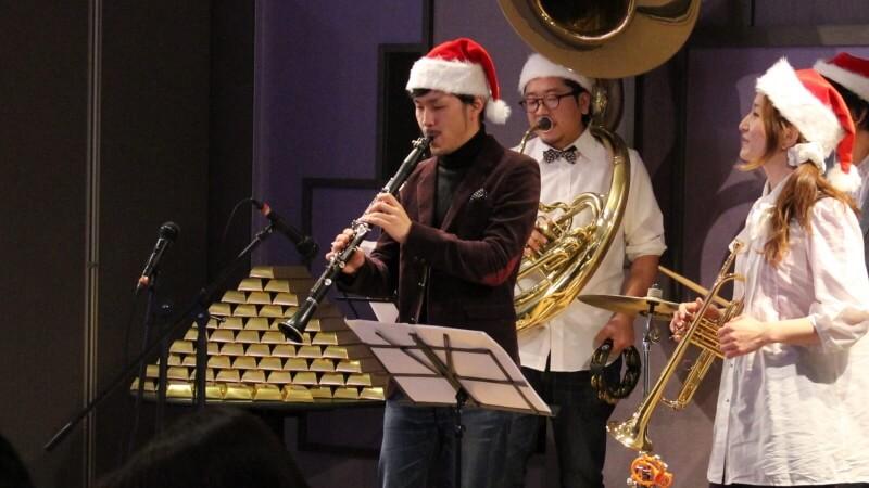 クリスマス会 バンド生演奏 大阪マリオット都ホテル2