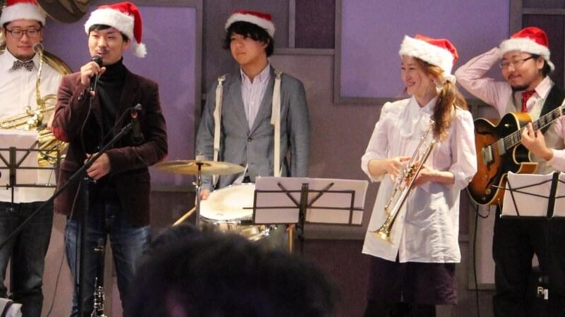 クリスマス会 バンド生演奏 大阪マリオット都ホテル4