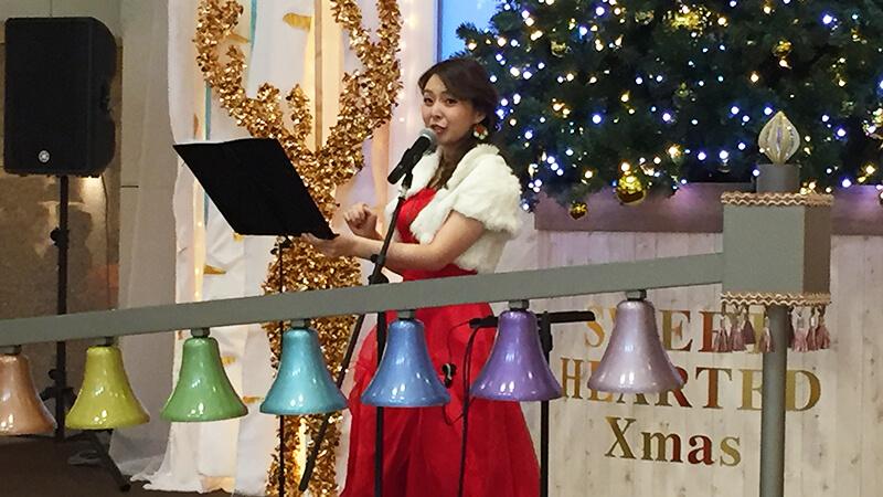 阪急三番街のクリスマスイベントにて各種ミュージシャンを手配3