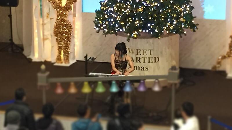 阪急三番街のクリスマスイベントにて各種ミュージシャンを手配9
