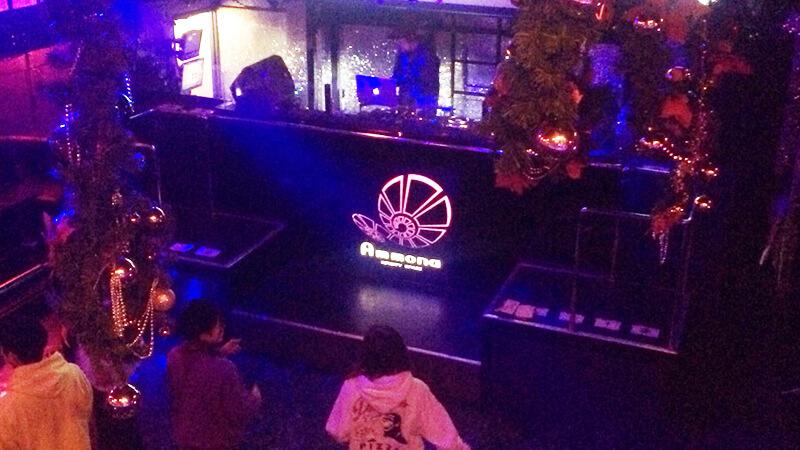 CLUB AMMONAで開催されたダンスバトルイベントでのDJ2