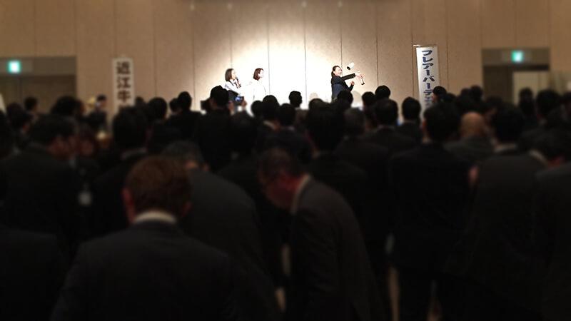 新大阪ワシントンホテルプラザにてフレアバーテンダーショーを開催2