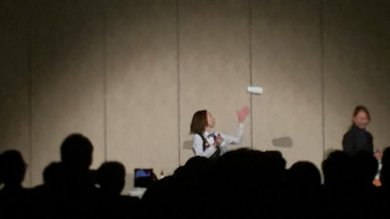 新大阪ワシントンホテルプラザにてフレアバーテンダーショーを開催3