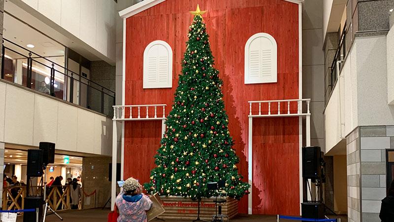 阪急三番街クリスマスツリー